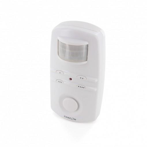 Motion sensor alarm with code