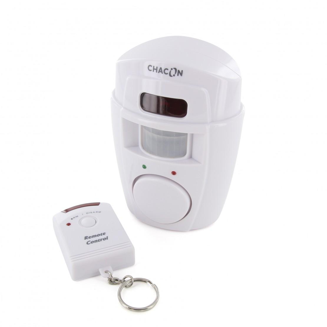 Alarme avec détecteur de mouvement et télécommande
