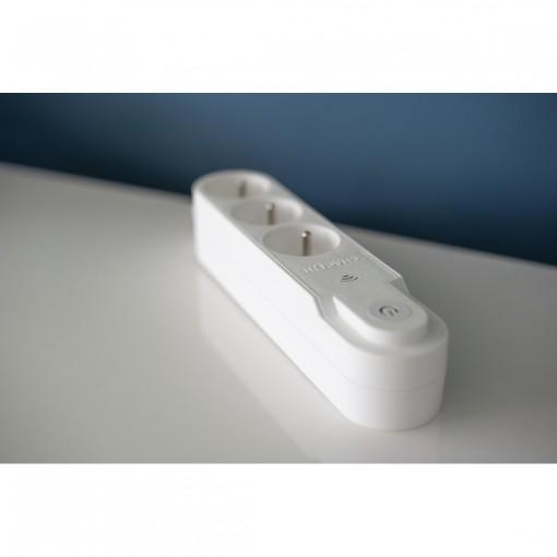 Multiprise Wifi - 3 x 16 A - 1 .5 m - blanc