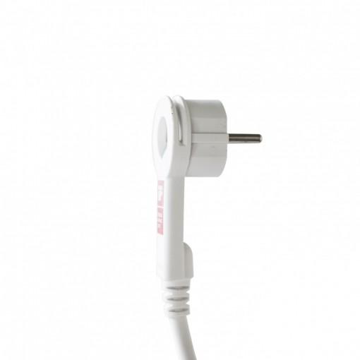 Snake Wifi Multistekker - 3 x16 A+ 2 x USB - 1.5 m - blanc