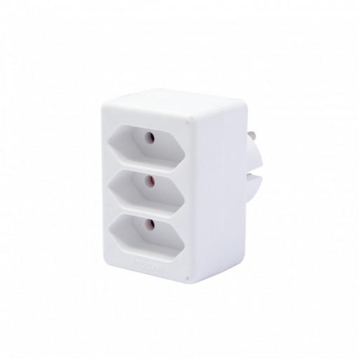 Domino 3 x 2,5 A - blanc