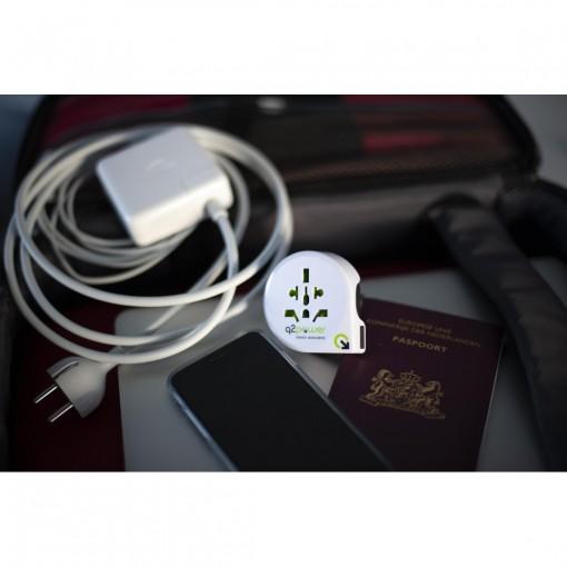 Reisadapter - q2powerQdapter 360