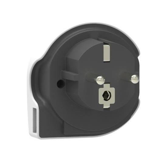 Reisadapter - q2powerWorld toEurope USB