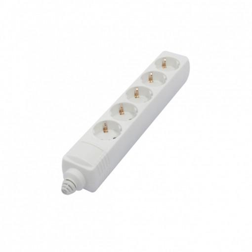 Multistekker 5 x 16A  zonder snoer - wit(SCH)