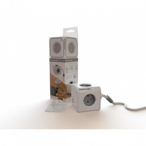 Powercube  3 x  16A + 2 x  USB 2.0 A - 1,5 m