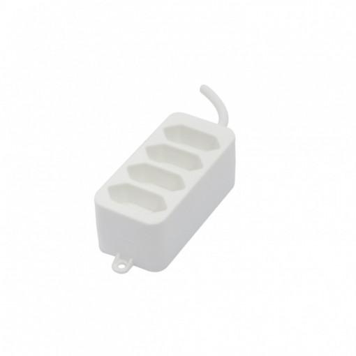 Multibase 4x2,5A - 1,5m - Blanco (SCH)
