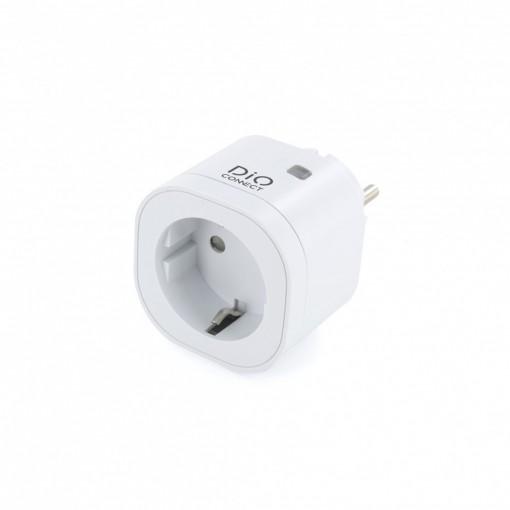 Aangesloten en draadloos schakelstopcontact DiO Connect