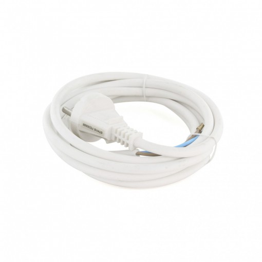 Unearthed cable - White - 3 m