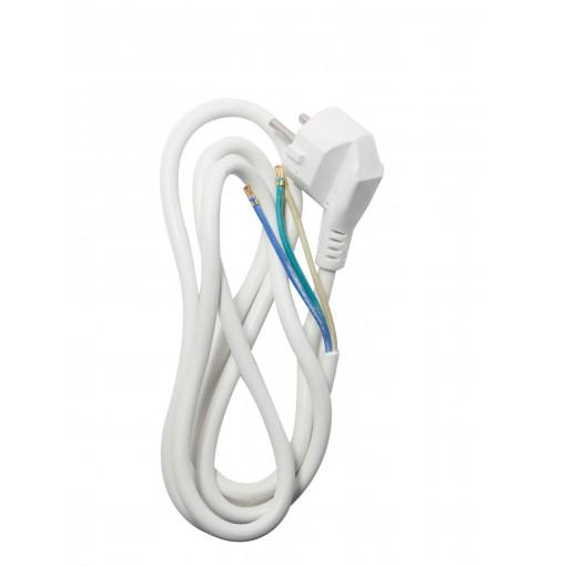 Cordon HO5VVF 3 x 1,5mm2 - 1,5 m - blanc