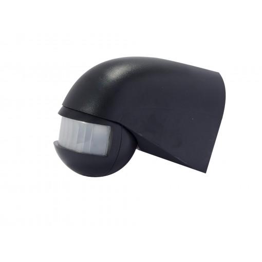 Détecteur de mouvement 180° or ientable - noir