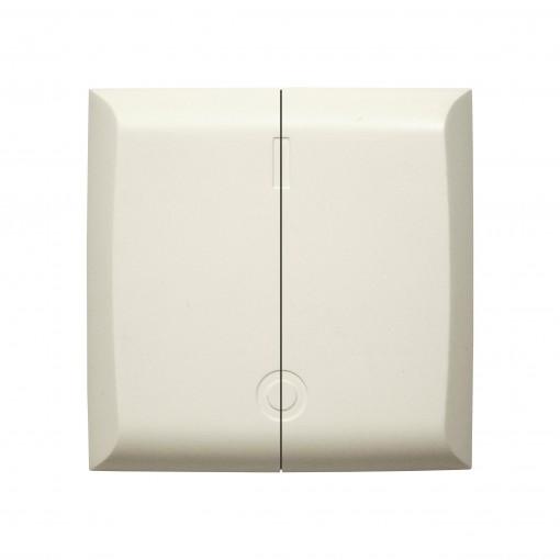 Interruptor doble inalámbrico(design,blanco)