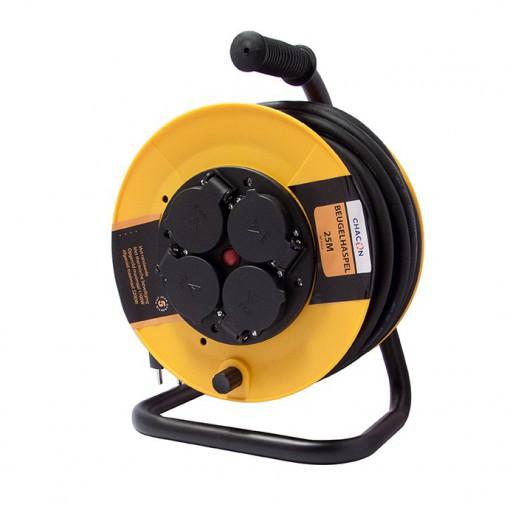 Enrouleur de chantier  4X16A H O7 RN-F 3x1,5mm2 - 25 m (SCH)