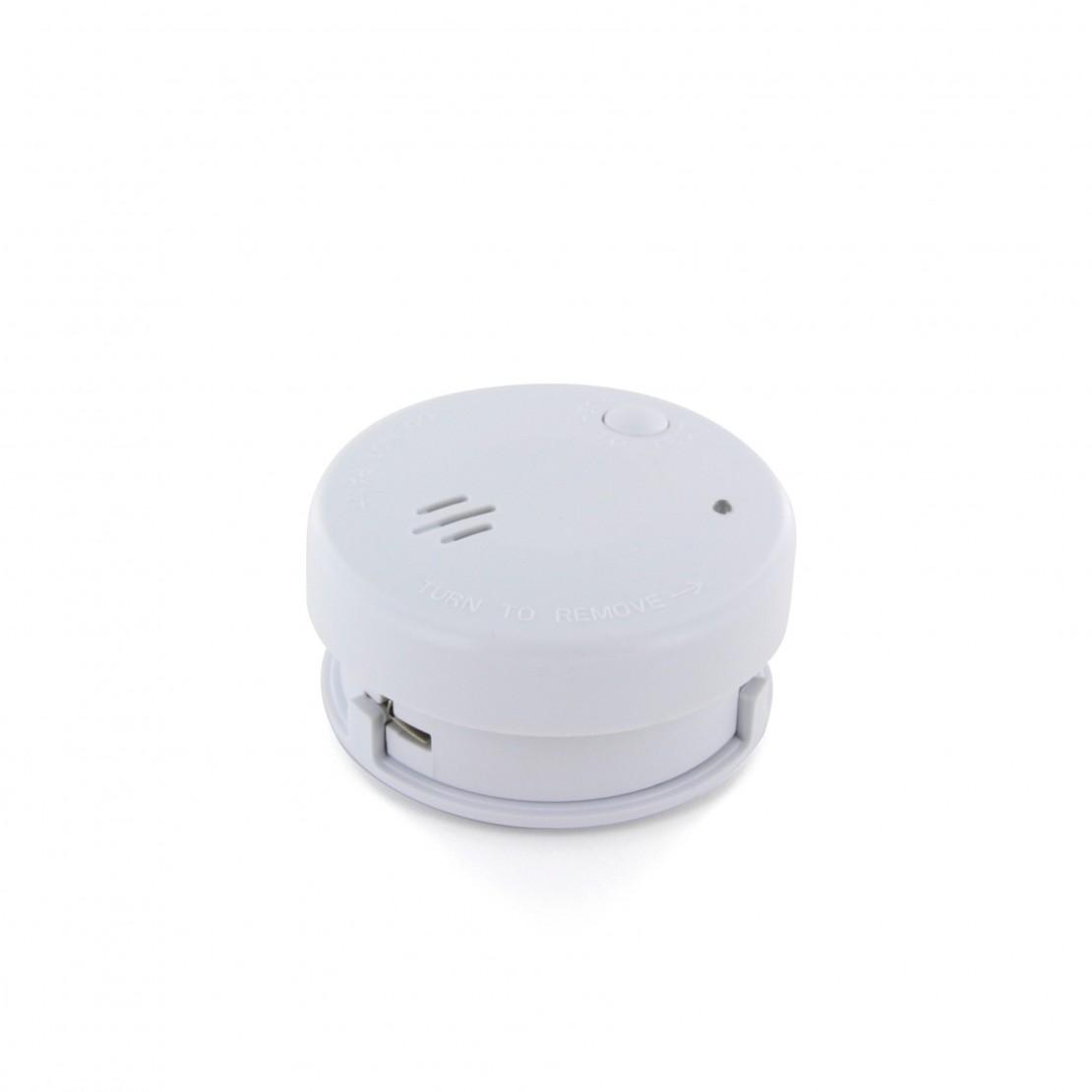 Detector de humo óptico con 3pilaslithium (5 años)
