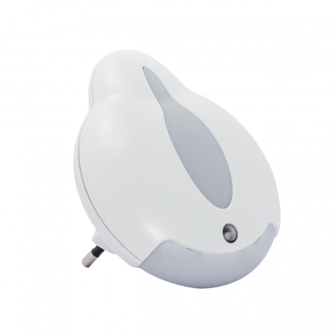 Veilleuse LED automatique avec senseur en forme flamme