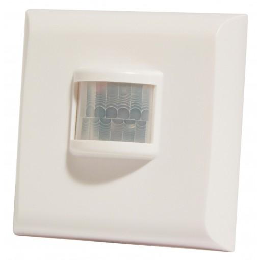 Interrupteur dét. de mouvement sans fil (design, blanc)