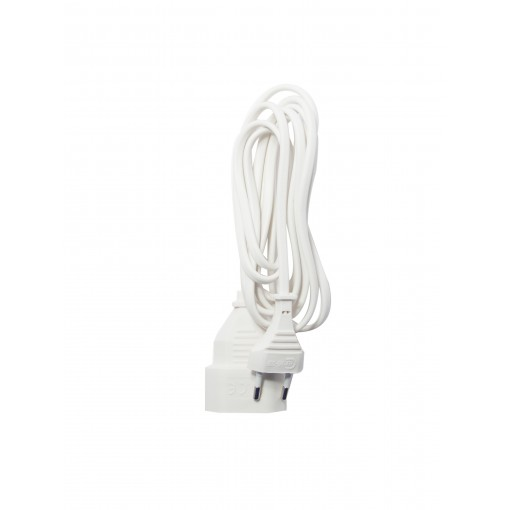 Prolongateur H03VVH2F  2 x 0,7 5mm2 - 2,5 m - blanc