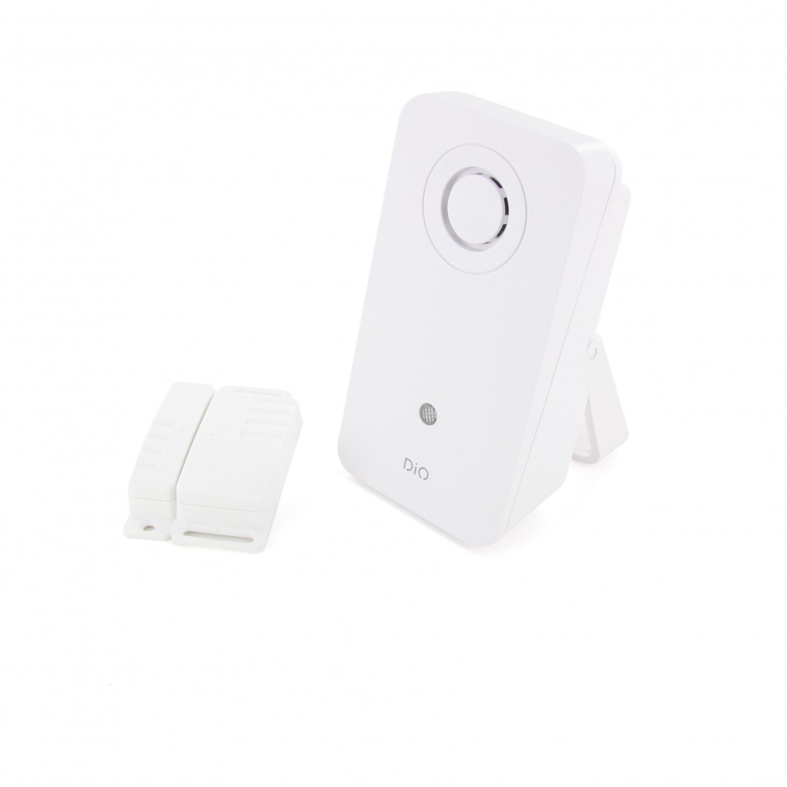 Kit draadloze deurbel met contactsluiterDIO Design 200m