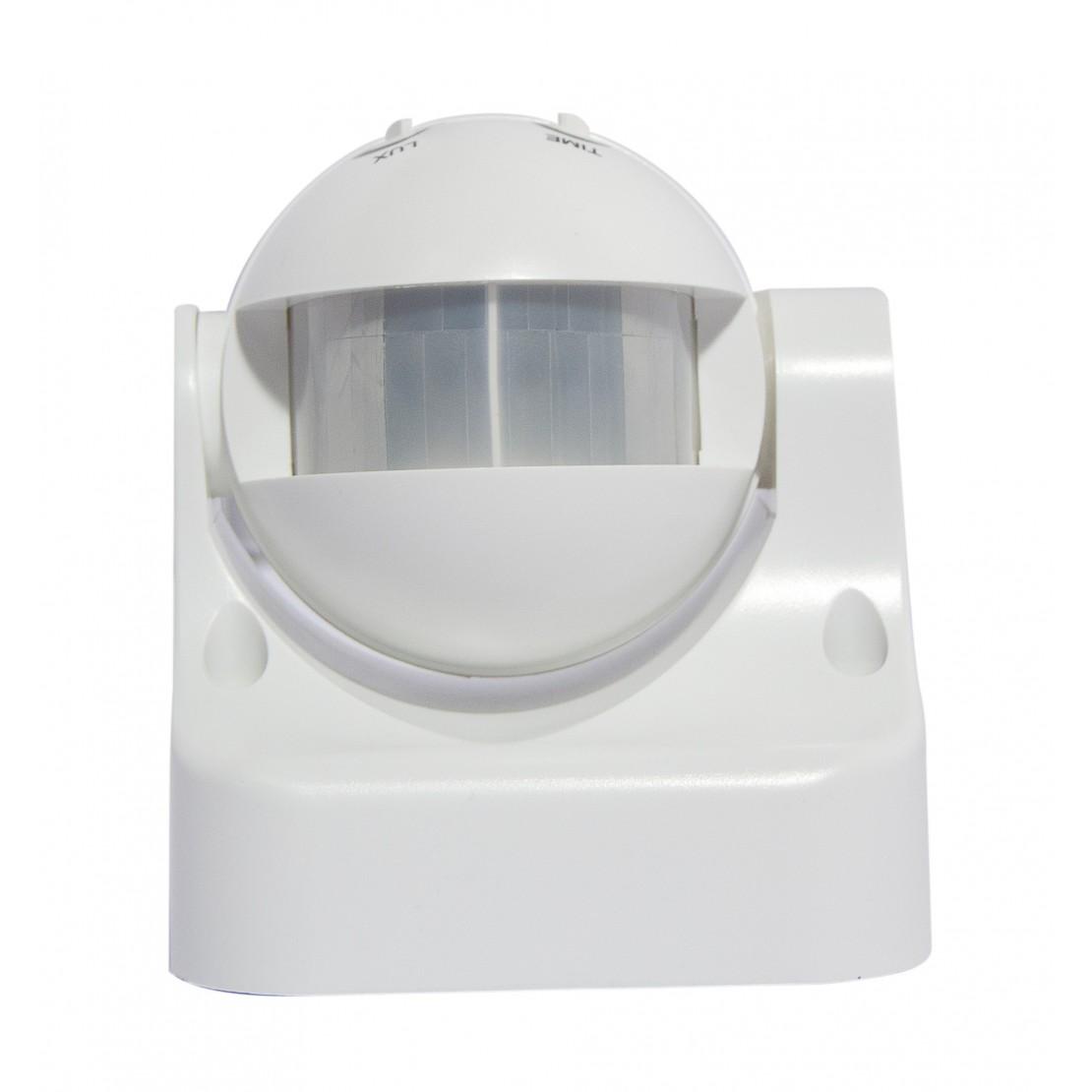 Detector de movimiento PIR 180º - blanco