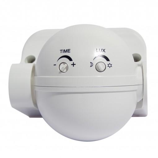 Detecteur de mouvement PIR 180 ° - blanc
