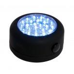 Linterna LED redonda magnética