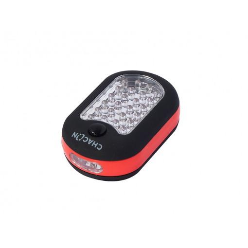 Linterna LED oval magnética