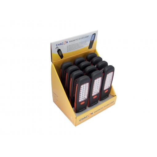 Linterna LED rectangular magnética