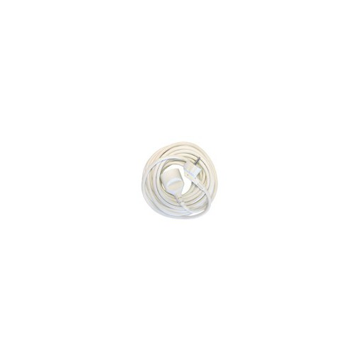 Prolongateur HO5VVF 3 x 1,5mm2 -   10 m - blanc