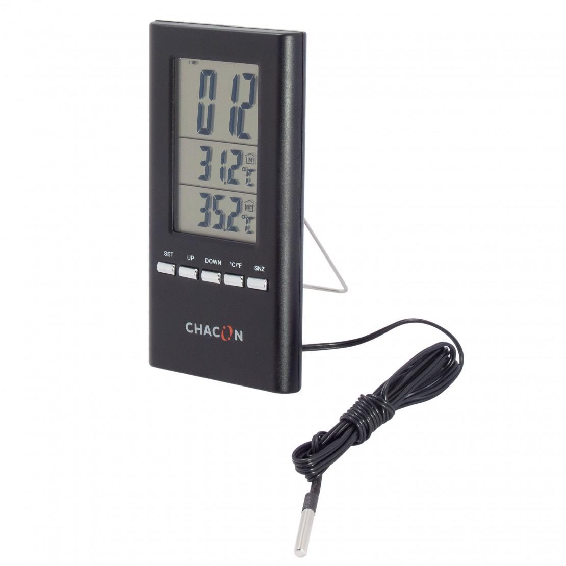 Thermomètre intérieur-extérieu r filaire