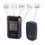 Binnen en buiten draadloze thermometer