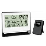 Estación meteorológica con sensor exteriexterior