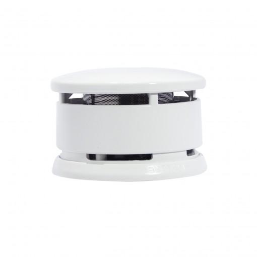 Detector de humo óptico con pilaalcaline (5 años)