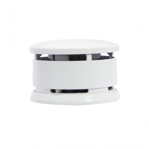 Detector de fumo óptico com baterialithium (10 anos)