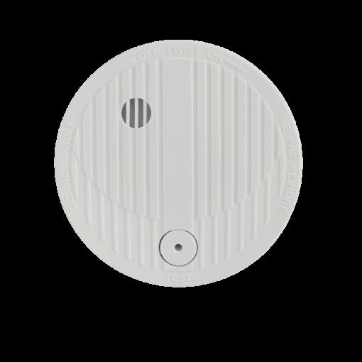 Draadloze optische rooksdetectormet 9V alkaline batterij - 1jaar