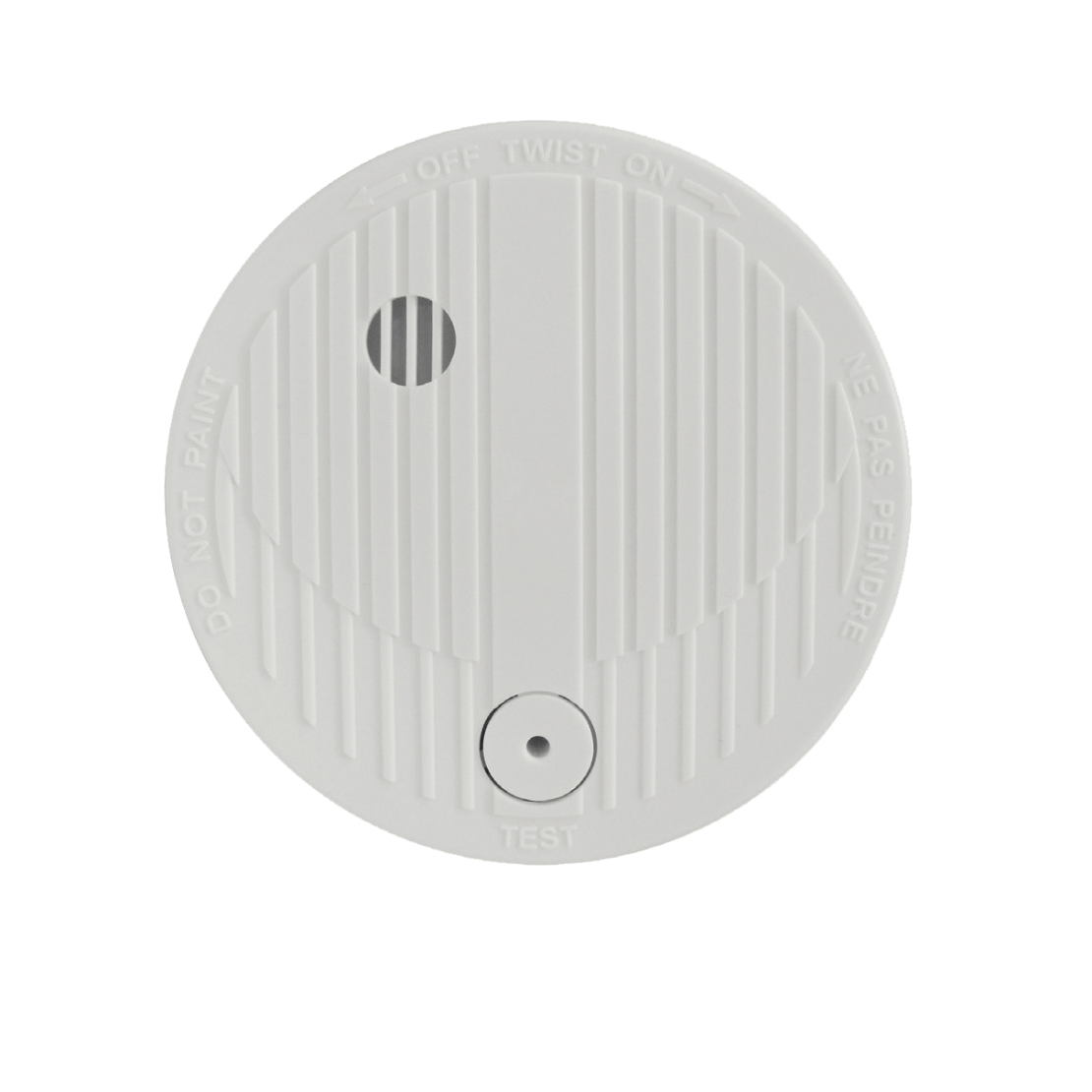 Detector de fumo óptico sem fioscom bateria 9V - 1 ano