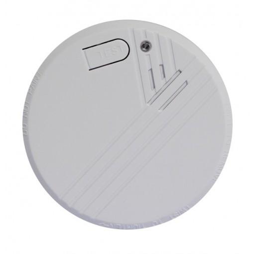 Optische rookdetectormet 9V alkaline batterij - 1 jaar