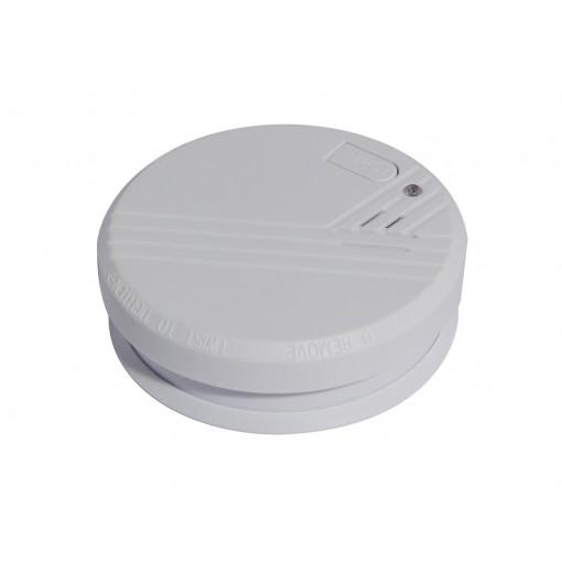 Detecteur de fumee optique ave c pile alkaline 9V - 1an