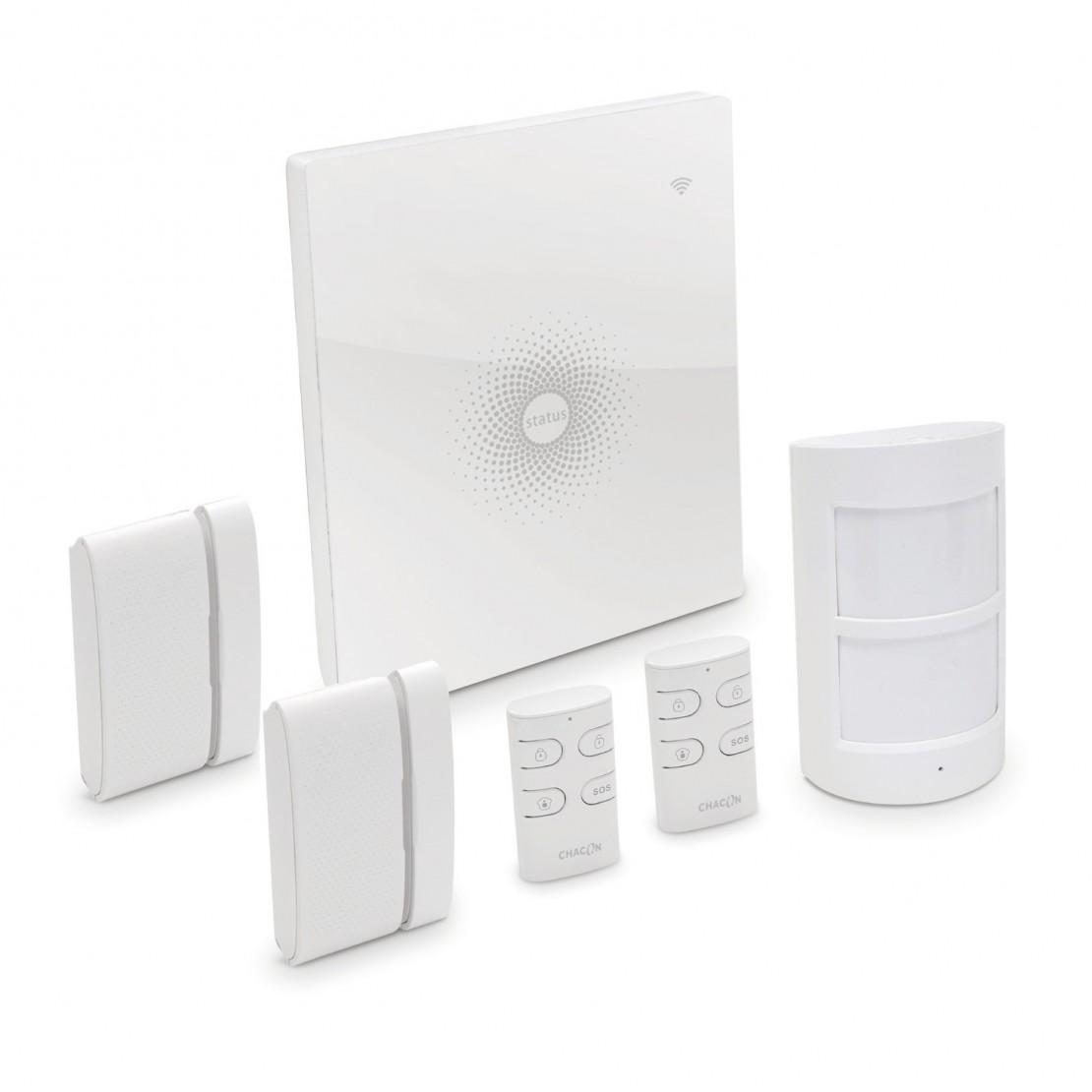 Système d'alarme Wi-Fi sans fi l + tactile