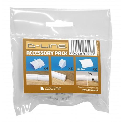 22x22mm Pack Accessoires Blanc