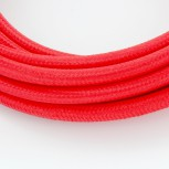 Cables textil con interruptorEHO3VVH2-FE 2 x 0,75mm2 2 m Rojo