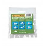 16/08 Accessoires Multipack Bl anc