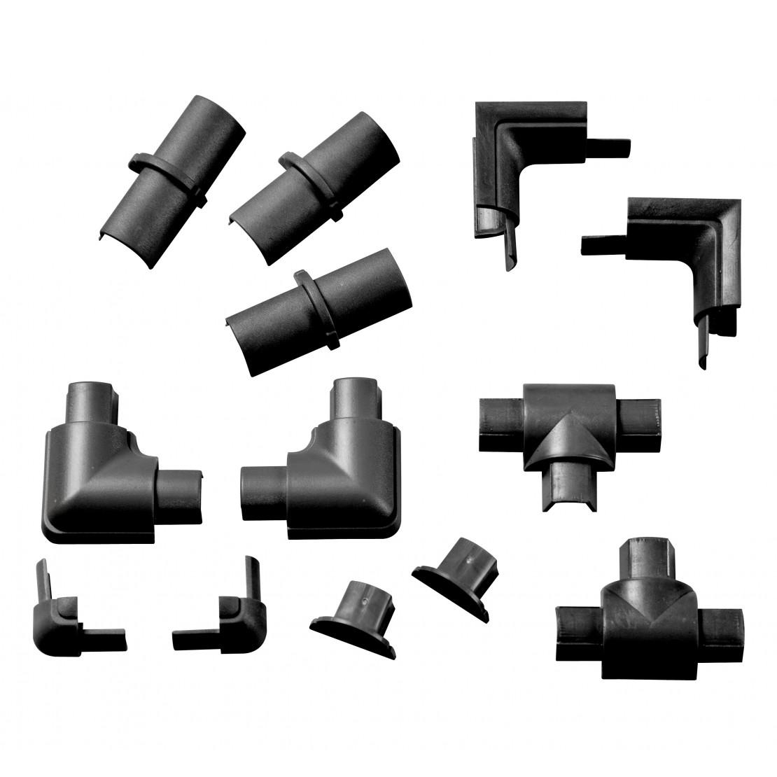 16/08 accessoires Zwart Multipack