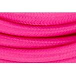Aansluitsnoer HO3VVH2-F  2 x 0,75mm2met schakelaar - 2 m - roze