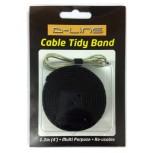 Klittenband,zwarte strip 1,2m