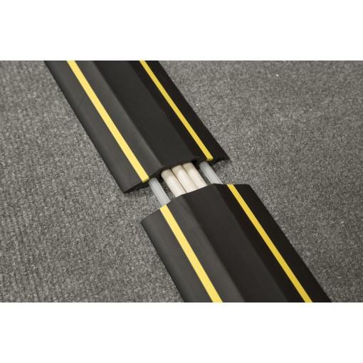 Passage plancher poids moyen n oir 83mm x 1.8m longueur