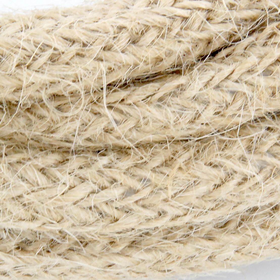 Cables textil HO3VV-FE 2 x 0,75mm2 3 m Lino