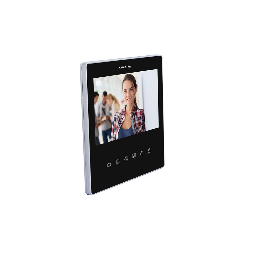 """Tela LCD 7"""" adicional - PretoU""ltra Slim para 34844 & 34863"