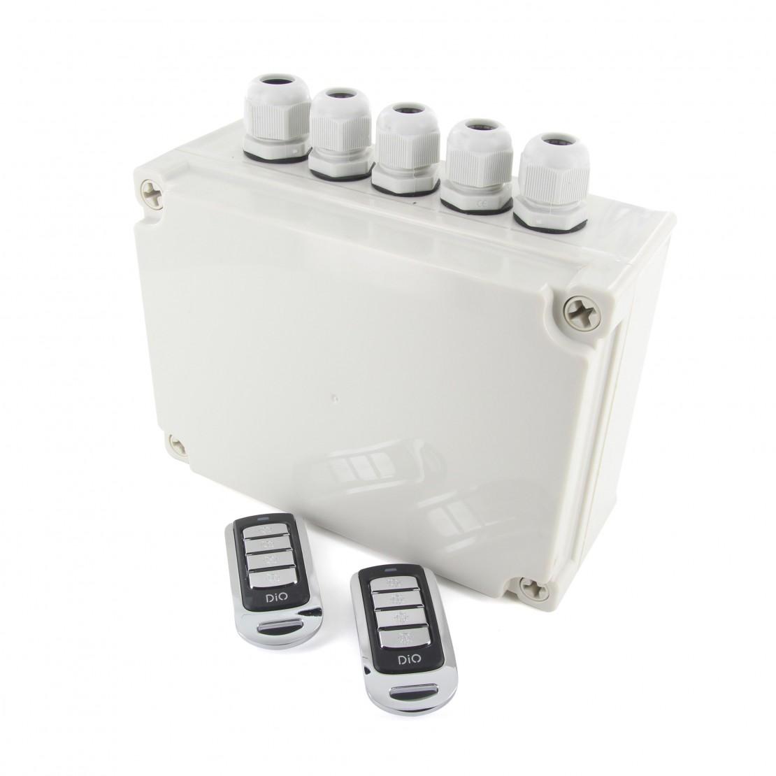 Kit Jardin avec 2 télécommande s 4 canaux