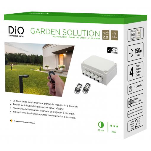 Pack jardin sans fil pour éclairage, portail, piscine…