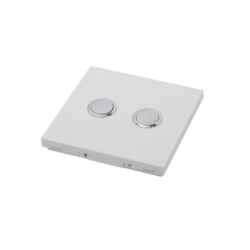 Interrupteur 868MHz 2 Canaux B lanc