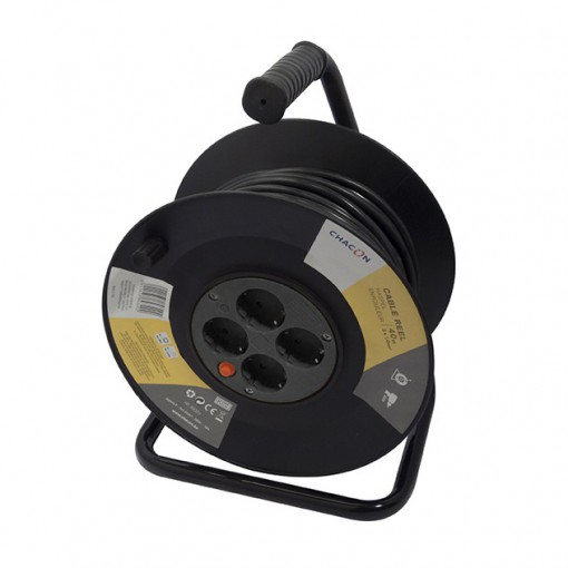 Enrollador 4x16A - 40m - 3x1,0mm2(SCH)